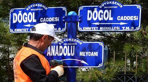 """Tandoğan Meydanı'na """"Anadolu Meydanı"""" Tabelaları Takıldı"""