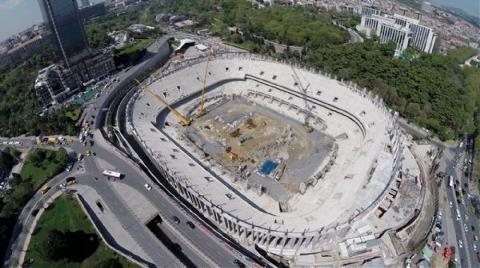 İşte Beşiktaş'ın Yeni Stadının Son Görüntüleri!