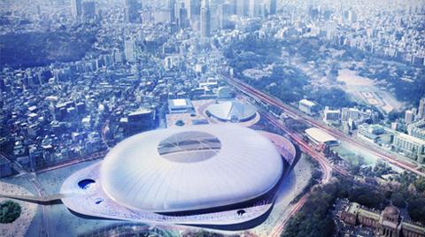 Tabanlıoğlu Mimarlık | Japonya Yeni Ulusal Stadyumu