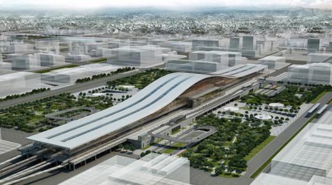 Tabanlıoğlu Mimarlık | Astana Tren İstasyonu