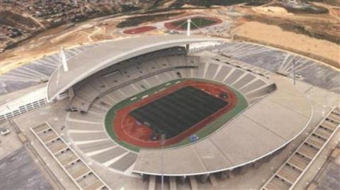 Olimpiyat Stadı'nın Yanında 'Riskli Alan'
