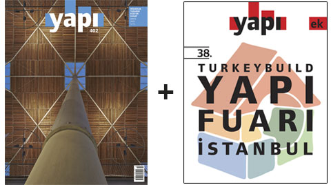 YAPI Dergisi MAYIS Sayısı Raflarda