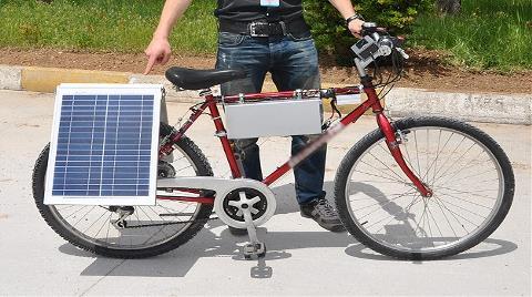 Güneş Enerjisi ile Çalışan Bisiklet