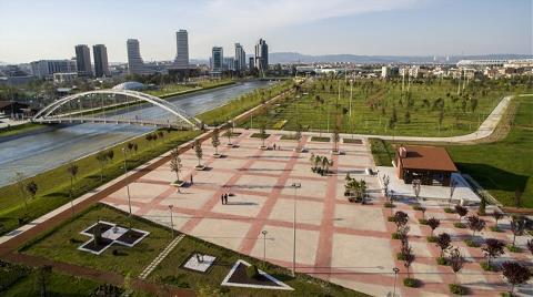 Bursa'ya 510 Bin Metrekarelik Kent Parkı