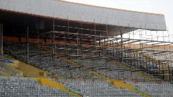 İzmir Atatürk Stadı'nda Çatı Yenileniyor