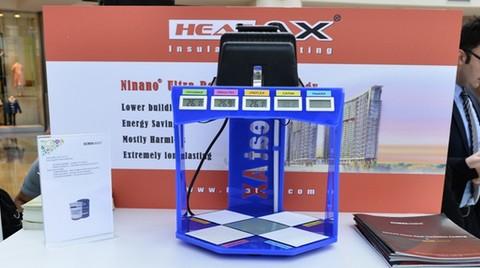 Tayvanlı Heatax® Yalıtım Kaplaması ile %61 Tasarruf