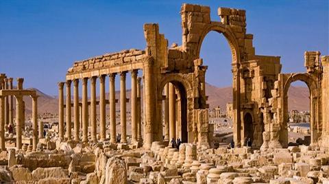 IŞİD'den Palmira Antik Kenti Açıklaması