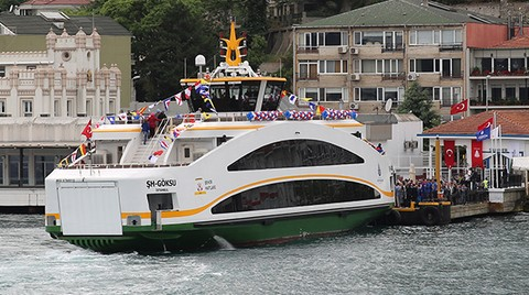 İşte Şehir Hatlarının Yeni 'Double Ended' Gemileri
