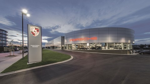 Yeni Porsche Merkezi'nin Güvenliği Bosch Güvenlik Sistemleri'ne Emanet