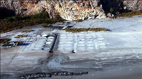 Antik Kentte 2 Bin Yıllık Tuz Sahası Bulundu