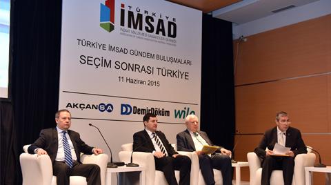 İMSAD Türkiye'nin Büyüme Beklentilerini Revize Etti