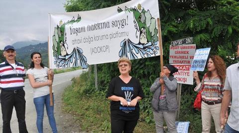 Şantiyede Pazarlık Davetine Protesto