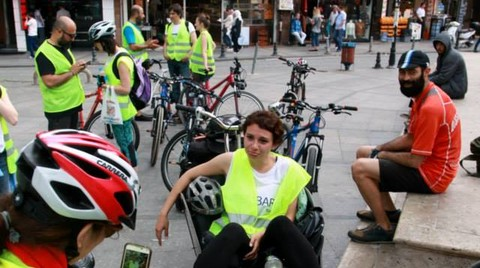 Bisiklet ve Tarihi Yarımada Sokakları