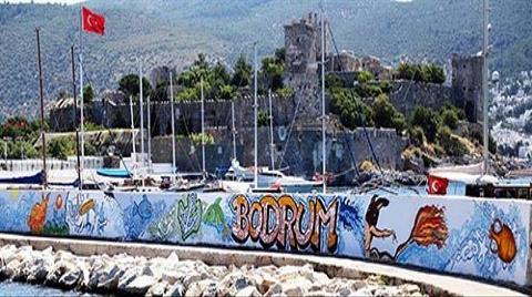 Bodrum Duvarları Grafitiyle Renklendi