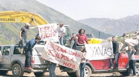 Karadeniz'de 'Yeşil Yol' Projesine İsyan