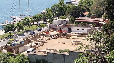 Kuruçeşme'de 'Osmanlı Hamamı' Bulundu