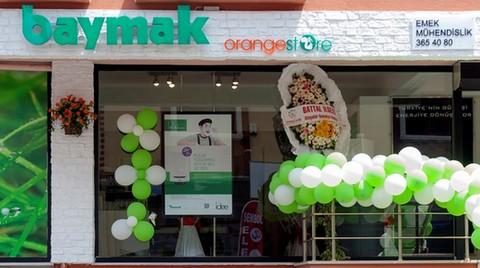 Baymak'ın Yeni Yüzü Orange Store'lar
