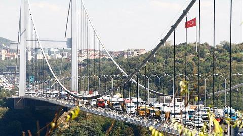 Köprü ve Otoyol Gelirleri 355 Milyon Lirayı Aştı