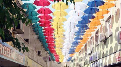 Sanat Sokağı Rengarenk