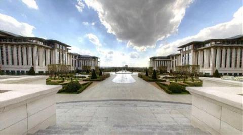 Cumhurbaşkanlığı Sarayı Sanal Tura Açıldı