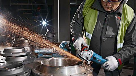 Bosch'dan Profesyoneller İçin Avuç Taşlama  Makineleri