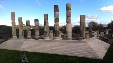 Apollon Tapınağı Bu Yaz Tamamlanacak