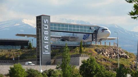 Airbus A 300 Restoran Oldu