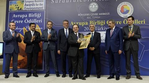 AB Çevre Ödülleri Türkiye'de Birincilik Ödülü Eczacıbaşı'nın