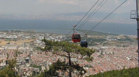 İzmir'de Yeniden Teleferik Heyecanı