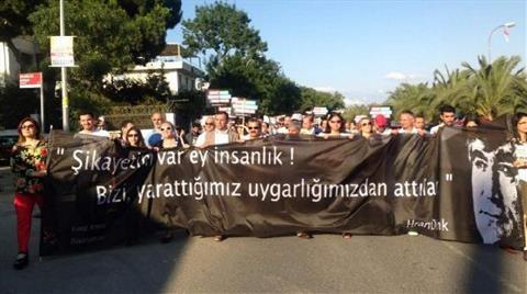 Kamp Armen'in İadesi için Üç Kilometre Yürüdüler
