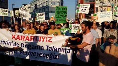 Kadıköy'den Cerattepe Direnişine Destek