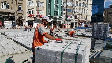 Taksim Meydanı ile Gezi Parkı Birleşiyor