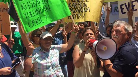 RES Toplantısı Protesto Edildi