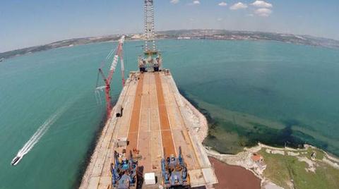 Körfez Köprüsü Çalışmaları Sürüyor
