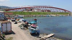 Trabzon'da 160 m'lik Köprü Suyun Üstüne Değil Kenarına Yapılmış
