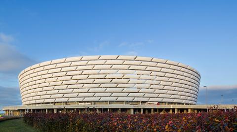 Anel Grup'un Mekanik İşlerini Üstlendiği Stadyum, 1. Avrupa Oyunları'na Ev Sahipliği Yaptı