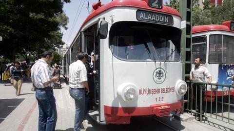 Konya'ya Hafif Raylı Sistem için İhale Hazırlığı