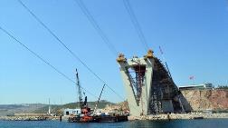 Körfez Köprüsünün Yaklaşım Viyadükleri Tamam