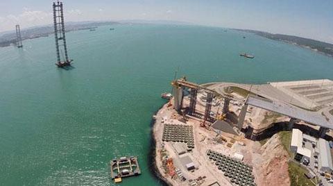 2016 Mart Sonunda Körfez Köprüsü'nden Geçilmesi Planlanıyor