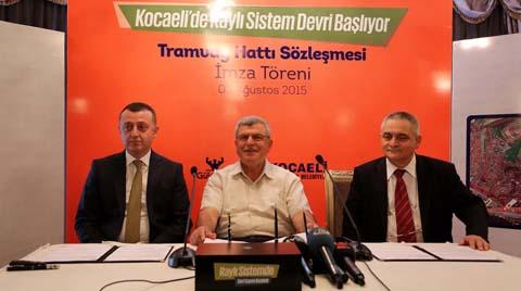Kocaeli'ye 114 Milyon Liralık Tramvay Hattı