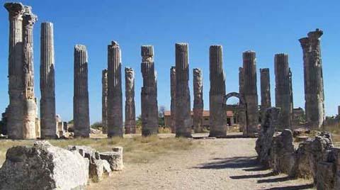 Zeus Tapınağına Restorasyon
