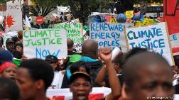 Afrika İklim Adaleti İstiyor