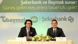 Şekerbank'tan Güneş Enerjisine 50 Milyon TL Kaynak