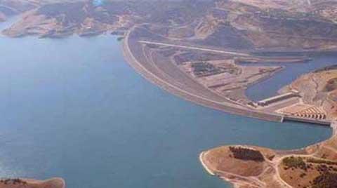 Silvan Barajı'nda İnşaat Durdu