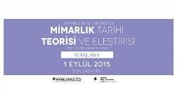 İstanbul Bilgi Üniversitesi Mimarlık Tarihi, Teorisi ve Eleştirisi Yüksek Lisans Programı