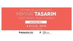 İstanbul Bilgi Üniversitesi Mimari Tasarım Yüksek Lisans Programı