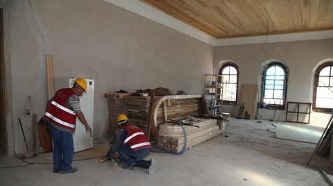 Atatürk Kongre ve Etnografya Müzesi'nin Örtüsü Aralandı