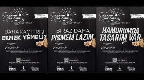 İzmir Kadifekale'de Tasarım Yaz Okulu