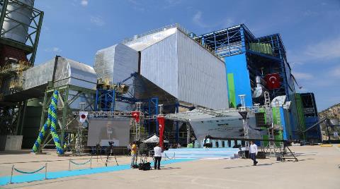 Aksa Enerji'nin Göynük Termik Santrali Açıldı