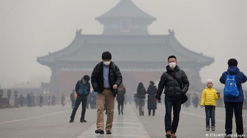 Çin'de Yılda 1 Milyon 600 Bin Kişi Hava Kirliliğinden Ölüyor